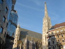 Vienna Cathedral Royalty Free Stock Photography