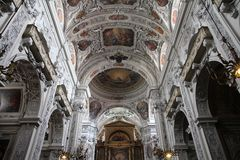 Vienna church Royalty Free Stock Images