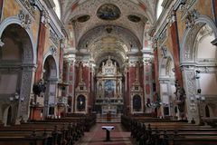 Vienna church Stock Photo