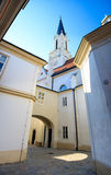Vienna church during summer Royalty Free Stock Photography