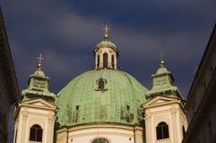 Vienna Church Tower Stock Photos