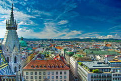 Free Vienna City Centre Top View Royalty Free Stock Image - 12631346