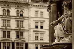 Vienna city fountain Stock Photo