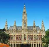 Vienna city hall Stock Image