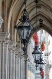 Vienna city hall Stock Photography