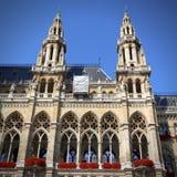 Vienna City Hall Stock Photos