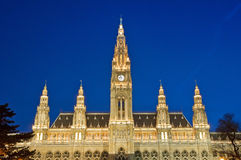 Vienna City Hall Royalty Free Stock Photo
