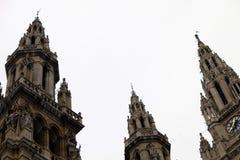 Vienna City Hall building Rathaus Stock Image