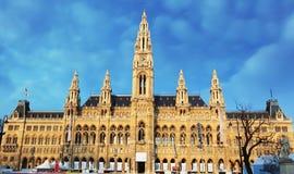 Vienna - City Hall - Town Hall, austria Stock Photo
