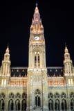 Vienna City Hall,  Wiener Rathaus, Austria at Stock Photos