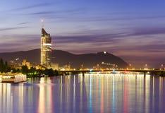 Vienna city at night Stock Photo