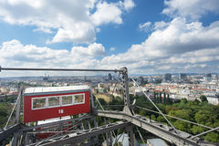 Vienna city Panorama, Austria Stock Image