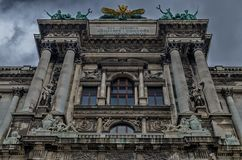 Vienna museum building Royalty Free Stock Images