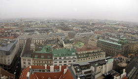 Vienna - city roofs Royalty Free Stock Image