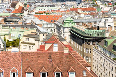 Vienna City Skyline Royalty Free Stock Images