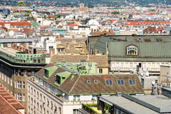 Vienna City Skyline Royalty Free Stock Photo
