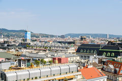 Vienna City Skyline Royalty Free Stock Photos