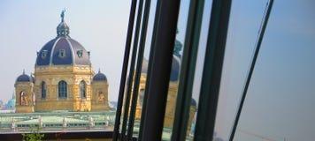 Vienna city skyline Royalty Free Stock Photos