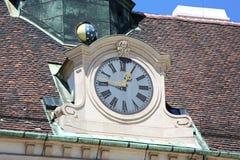 Vienna Clock Royalty Free Stock Photography