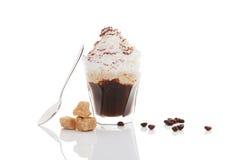 Vienna coffee. Royalty Free Stock Image