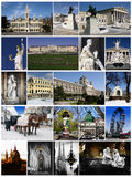 Vienna collage Royalty Free Stock Photography