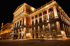 Vienna, concert hall Stock Images
