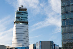 Vienna control tower Stock Photos
