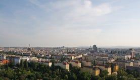 vienna dachowy widok Zdjęcia Stock