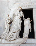 Vienna - Detail of tomb of Marie Christine daughter of Maria Theresia Stock Photos