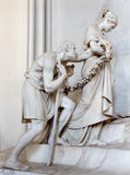 Vienna - Detail of tomb of Marie Christine daughter of Maria Theresia Stock Photography