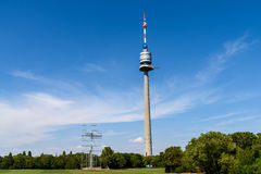 The Vienna Donauturm (Danube Tower) Stock Photo