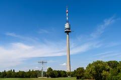 The Vienna Donauturm (Danube Tower) Stock Photo