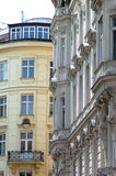 Vienna downtown palace. Beautifully reconstructed luxurious old buildings in downtown Vienna Stock Images