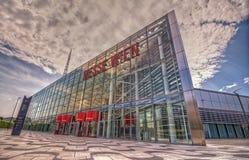 Vienna exhibition center, Austria Royalty Free Stock Images