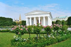 Vienna, Folksgarten park Royalty Free Stock Photo