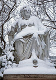 Vienna -  Franz Schubert statue in Stadtpark Royalty Free Stock Image