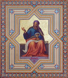 Vienna - Fresco of Malachi prophets from 19. cent. by Carl Mayer in Altlerchenfelder church. On July 27, 2013 Vienna Royalty Free Stock Image