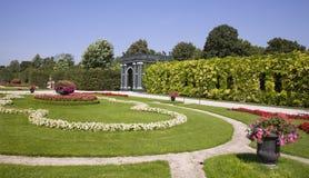 Vienna - garden  Schonbrunn Stock Photos