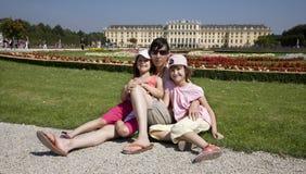 Vienna - garden  Schonbrunn Stock Photo