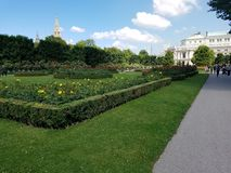 Vienna gardens Royalty Free Stock Photos