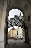 Vienna Gate. A gateway in the center of Vienna, Austria Stock Photo