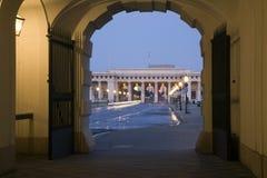 Vienna - gate to Hofburg Stock Image