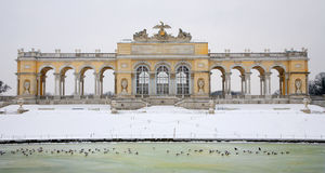 Vienna - Gloriette from Schonbrunn palace Stock Photography
