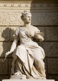 Vienna - goddess of painting Stock Images
