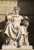 Vienna - goddess of statuary Royalty Free Stock Photography
