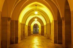 Vienna - Gothic external corridor of Minoriten church Royalty Free Stock Image