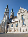Vienna - Gothic south facade of monastery church in Klosterneuburg Royalty Free Stock Photo