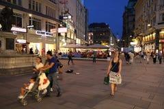 Vienna - Graben Royalty Free Stock Image