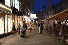 Vienna - Graben Stock Photo