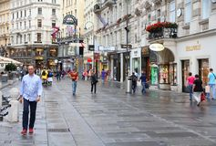 Vienna - Graben Royalty Free Stock Photos
